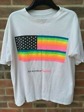 New Order USA Tour89 Flag T-Shirt design by Peter Saville - Factory Records