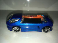 RARE VINTAGE 1999 Hot Wheels Blue Deora II