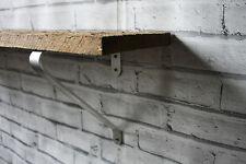 Aluminium Shelf Bracketsx2 Shelf Width 220-250mm Modern Wall Kitchen Shelving