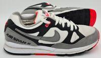 Nike Air Span 2 Suede Trainers AH8.47-005 White/Grey/Black/Coral UK8/US9/EU42.5