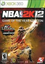 NBA 2K12 -- Game of the Year Edition (Microsoft Xbox 360, 2012)