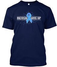 Prostate Cancer Ribbon Awareness Hanes Tagless Tee T-Shirt