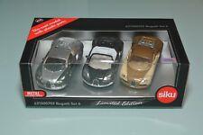 Siku Bugatti Set 6 6213 00705 Limitiert Werbemodell Auslandsmodell IRE NZ