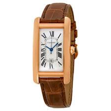 Cartier Tank Americaine 18kt Pink Gold Medium Watch W2620030