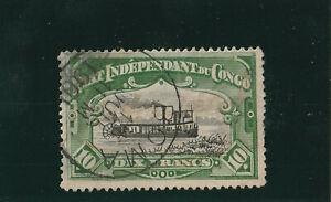 Belgisch Kongo - Unabhängiger Staat - 1892 - MiNrn 25 A - sauber gest.