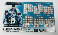 2006-07 San Jose Sharks NHL Magnet Schedule