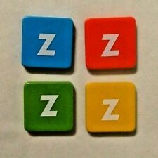 FOUR ZWAP Tiles Replacement Parts for BEZZERWIZZER Quiz Game