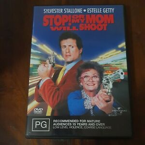 Stop! Or My Mom Will Shoot (DVD, 1992) Sylvester Stallone Region 4 Free Postage