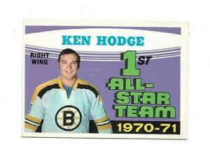 1971-72 OPC:#254 Ken Hodge All-Star