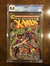 X-men #98 CGC 8.0 W VF X-men and the Armageddon Project! B@@yah!