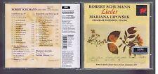 ROBERT SCHUMANN CD LIEDER MARJANA LIPOVSEK / GRAHAM JOHNSON
