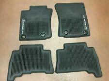 Lexus Gx460 2014-2020 4Pcs Black All Weather Floor Mats Pt908-60140-20