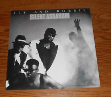 Sly and Robbie Silent Assassin Poster 2-Sided Flat 1989 Promo 12x12 RARE R&B