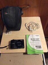 Canon PowerShot A1300 16.0MP Digital Camera - Black Used
