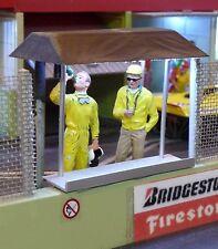 Slotcar RENNBAHN Team-Stand PIT-BOX TOP DEKORATION für Carrera Figuren   AV70014