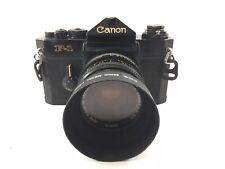B2 Canon F-1 SLR 35mm Film Camera W/ FD 50mm f/1.4 From Japan