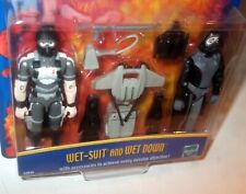 NEW ✰ 2000 Hasbro GI Joe Collectors MOC figure WET DOWN WET-SUIT wet suit SHARP