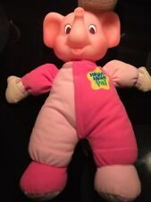 "11"" NIGHT NIGHT PAL PINK LIGHT UP MUSICAL BABY ELEPHANT KS Toys PLUSH TOY"