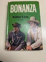 Bonanza Killer Lion 1966 Hardcover Book TV Show Photo Cover Michael Landon