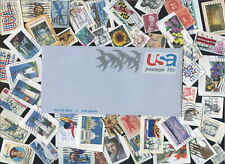 USA postage stamps 40c to $5 and back-of-book 200 different [sta3035]