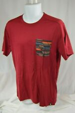SmartWool Men's MED Merino150 Pocket Tee MSRP$85 (1914) Tibetan Red