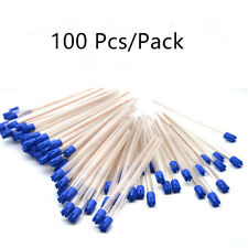 100 Pcs Dental Disposable Saliva Ejector Low Volume Suction Aspirator Tube