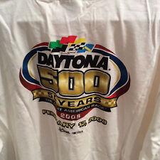 NEW   NASCAR  DATONA 500  50th ANNIVERSARY  SHIRT SX 2XL