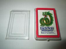 Miniature Deck of Playing Cards The Loch Ness Monster Busch Gardens