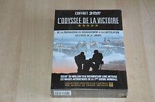 coffret DVD L'Odyssée de la victoire / Débarquement 2e guerre mondiale - NEUF