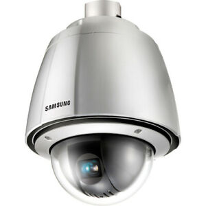 Samsung SPU-3700 Ultra Low-light Weather-proof PTZ Dome Camera (37x Zoom)