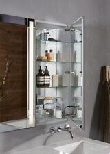 Robern MP16D4FPN M Series Flat Plain Mirror Cabinet, 15-1/4-Inch W by 39-3/8-Inc