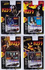 Johnny Lightning Racing Dreams Kiss Frehley Simmons Criss Stanley Funny Cars Mip