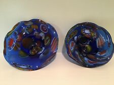 Vintage Mexican blown glass circa 1970s, priced individually, like new condition