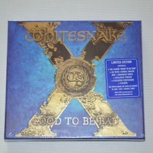 WHITESNAKE - GOOD TO BE BAD - 2008 CD DELUXE EDITION SEALED