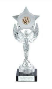 Male Athletics Unity Victory Award 230mm Trophy (K) ENGRAVED FREE
