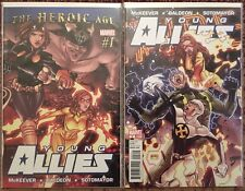 Young Allies 1-6, complete 2010 miniseries, Firestar, Gravity, Marvel