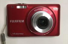 Fujifilm FinePix JX Series JX500 14.0MP Digital Camera - Red (JX500)