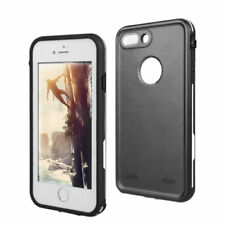 For Apple iPhone 7 8 Plus Waterproof Case Cover with Built-in Screen Protector