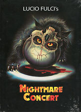Cat In The Brain aka Nightmare Concert Blu Ray & DVD Mediabook XT Video Fulci