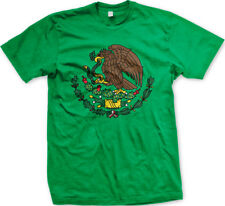 Mexico Golden Eagle Snake Coat of Arms Flag Symbol Mexican MEX MX Men's T-Shirt