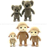 5pcs Sylvanian Families Koala Sheep Family Calico Critters Animals Figures Dolls