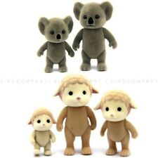 Lot 5pcs Sylvanian Families Koala Sheep Family Calico Critters Animals Figures