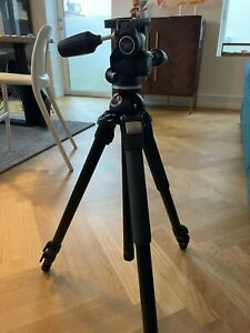 Manfrotto Tripod 055 + head 804RC2 + original bag MBAG80