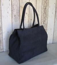 Handtasche Tasche Shopper Wildleder Rauleder echtes Leder made in Italy