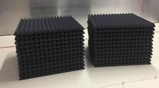 "Acoustic Studio Soundproofing Foam Panels Wedge/Pyramid (24) 24"" x 24"" x 1.5"""