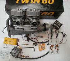 SUPER TIGRE TWIN 60 Engine for RC Model Airplane NITRO Engine ~