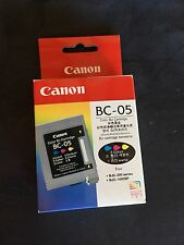 Canon printer Ink BC-05 Colour 3 COLOR Brand new IN BJC-200 BJC-1000SP