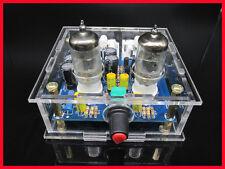 Preamplificatore a valvole con 2 tubi 6J1, HiFi stereo montato collaudato in box