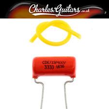 SPRAGUE ORANGE DROP CAP CAPACITOR 0.033 400V (CH11008)