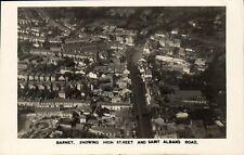 Barnet. High Street & Saint Albans Road Aerial View.